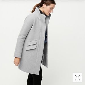 COPY - J. Crew Cocoon Coat in Italian Stadium Clo…